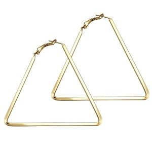 Jewelry - Chic Triangle Earrings